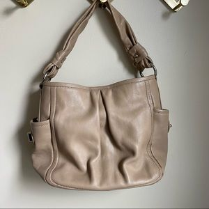 COACH Tan Parker 13412 Leather Hobo